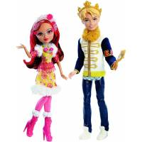Ever After High Дэринг Чарминг и Розабелла Бьюти из серии эпическая зима Daring Charming and Rosabella Beauty Dolls Epic Winter 2-Pack DLB38