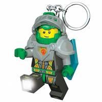 Lego Nexo Knights Брелок-фонарик Некзо Найтс Аарон Aaron Keylight with Shield Power Code LGL-KE98