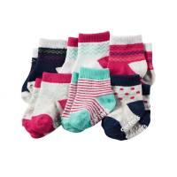 Комплект носочков для девочки Carters Ромбики