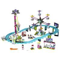Lego Friends Парк развлечений Американские горки Amusement Park Roller Coaster 41130