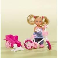 Simba Evi Love Еви и ее собачка на велосипеде Bike Tour 5730783