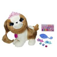 FurReal Friends Интерактивный щенок Модные зверята Dress Pets with Style Groom 'n Style Princess Pup Pet