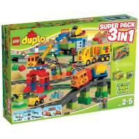 Lego Duplo Комбинированный набор Большой поезд Делюкс 3 в 1 66524 LEGO Deluxe Train Set