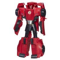 Transformers Трансформер Сайдсвайп Robots in Disguise 3-Step Changers Sideswipe Figure