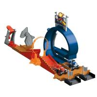 Fisher price Трек Гонка под куполом Вспыш против Крушилы Blaze and the Monster Machines Monster Dome Playset