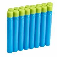 BOOMco. Комплект запасных дротиков 16 штук голубые с зеленым Extra Darts Pack Blue with Green Tip