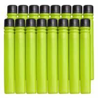 BOOMco.  Комплект запасных дротиков 16 штук салатовые с черным Extra Darts Pack Green with Black Tip