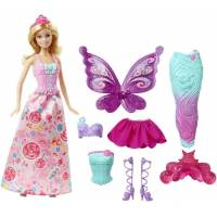 Barbie Барби фея DHC39 Fairytale Dress Up Gift Set