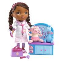 Disney Doc McStuffins Набор Доктор Плюшева с Ламби и Стаффи Magic Talkin' Doc & Friends Doll