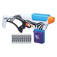Nerf Бластер для девочки Rebelle Super Stripes Rapid Glow Blaster