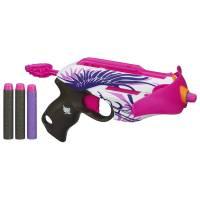 Nerf Бластер-арбалет 2 в 1 Розовое безумие Rebelle Pink Crush Blaster A4739