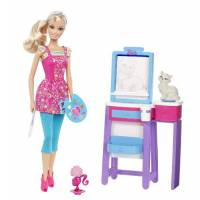 Barbie Барби я могу быть Учитель рисования I Can Be Art Teacher Doll Playset ВВ6933