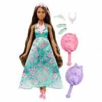 Barbie Принцесса с волшебными волосами Dreamtopia Color Stylin' Princess Doll