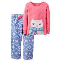 Пижама с флисовыми штанишками Carters Сова