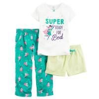 Пижама тройка для девочки Carters Супергероиня