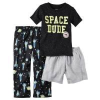Пижама тройка для мальчика  Carters Космос