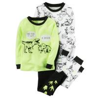 Комплект детских пижам для мальчика Carters Динозавры