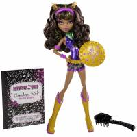 Monster High Exclusive Power Ghouls Clawdeen Wolf  Кукла Клодин Вульф из серии Супергерои