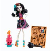 Monster High Skelita Calaveras Скелита Калаверас Арт класс Art Class