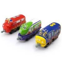 Chuggington Набор паравозиков Вильсон, Коко и Брюстер StackTrack Team Trainee 3 Pack Wilson, Koko, and Brewster
