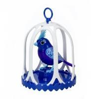 DigiBirds Интерактивная поющая птичка с клеткой 58 мелодий Singing birds  Flying Toys