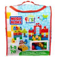 Mega Bloks Конструктор Забавная школа First Builders