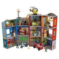 KidKraft Игровой набор Здание спасательной службы Everyday Heroes Wooden Play Set