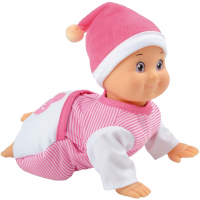 Smoby Кукла маленький поцелуйчик ползающая Minikiss  creeping doll 160156