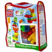 Mega Bloks Конструктор Забавные животные 70 деталей First Builders Funny animals 70 pcs