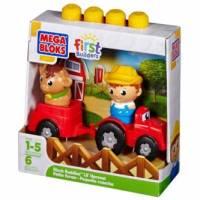 Mega Bloks Конструктор Друзья Ферма First Builders Lil' Harvest Friends farm