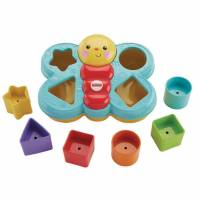 Fisher Price Сортер бабочка Sort N Spill Butterfly shape sorter