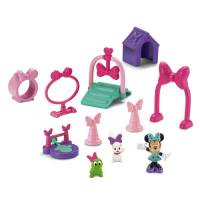 Fisher-Price Тренировочная площадка для питомцев Минни Minnie Paw Pack Playset