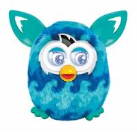Furby boom Интерактивная игрушка Ферби бум Голубая волна на французском Blue Waves