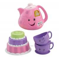 Fisher Price Смейся и учись Чайный набор Веселое чаепитие Laugh & Learn Smart Stages Tea Set