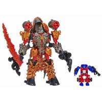Transformers Трансформеры 4 Гримлок и Оптимус Прайм 2 в 1 Констракт Боты Age of Extinction Construct-Bots Dinofire Grimlock and Optimus Prime Set