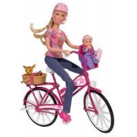 STEFFI LOVE Игровой набор Штеффи велосипедная прогулка biketour 5739050
