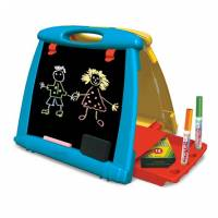 Crayola Настольный двусторонний переносной мольберт Art-To-Go Table Easel