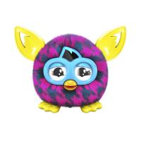 Furby Furbling Интерактивная игрушка Ферби бум  розовые и синие ломанные линии Critter Pink and Blue Houndstooth