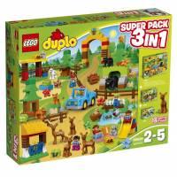 Lego Duplo Комбинированный набор Лес 3 в 1 super pack 3 in 1 66538