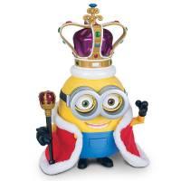 Minions Интерактивный миньон Боб Британский король Movie Action Figure Bob British Invasion King