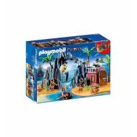 Playmobil Конструктор Остров сокровищ 6679 pirates Treasure Island