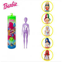 Barbie S1 W2 Барби сюрприз серия еда GTP41 Color Reveal Foodie Series Doll
