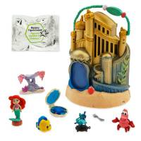 Disney Animators' набор Мини аниматор Ариэль ариель c домиком Littles Ariel The Little Mermaid Surprise Feature Playset