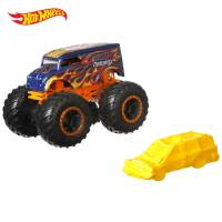 Hot Wheels Monster Jam Внедорожник джип 1:64 Scale FYJ44 Dairy Delivery Monster Trucks 24/75