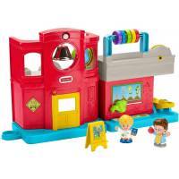 Fisher-Price Игровой набор Школа GCK46 Little People Friendly School