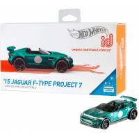 Hot wheels id S1 машинка гонка Ягуар 06/06 FXB18 15 Jaguar F-Type Project 7 factory fresh toy car