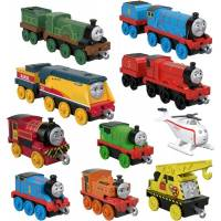 Fisher-Price Набор из 10 поездов содор GFF07 Thomas Friends TrackMaster Sodor Steamies