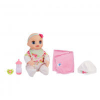 Baby Alive Интерактивная кукла пупс Моя Любимая Малютка E2352 Real As Can Be Baby Blonde Hair