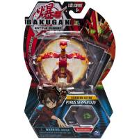 Bakugan Battle Planet Ультра Бакуган Пайрус Серпентез 20108447-6052008 Ultra Pyrus Serpenteze Collectible Transforming Figure