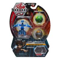 Bakugan Battle Planet Набор из 3 бакуганов Серпентез 29127617 Battle Brawlers Serpenteze Starter Pack